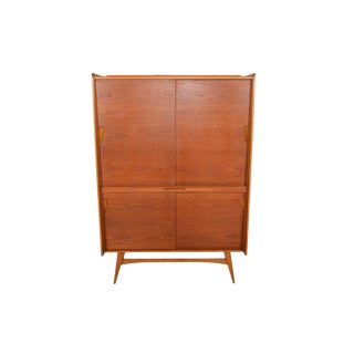 Behr German Modern Teak Cupboard Bar