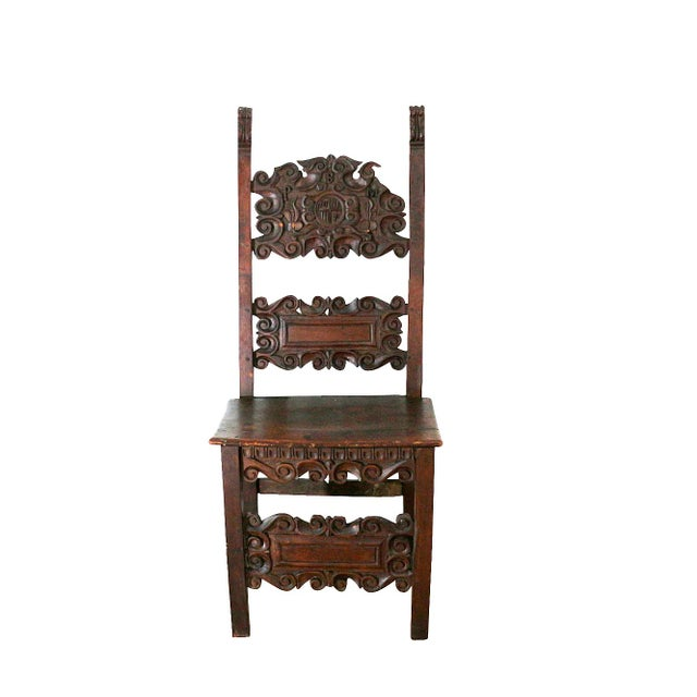 1400s Historic Furniture Chair - Image 1 of 8