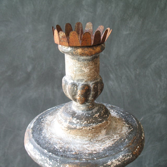 Cathedral Style Candle Holder - Image 3 of 7