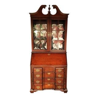 Vintage Jasper Cabinet Mahogany Secretary Desk