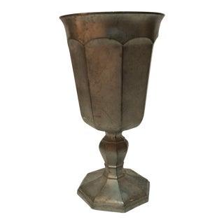 Vintage Pewter Goblet