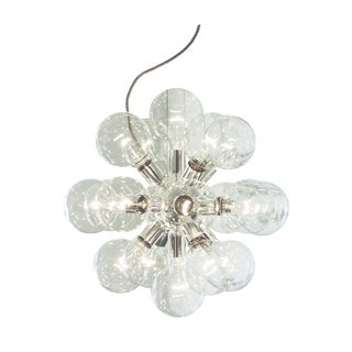 Design Chandelier - Lux Silver Plated 18-Light