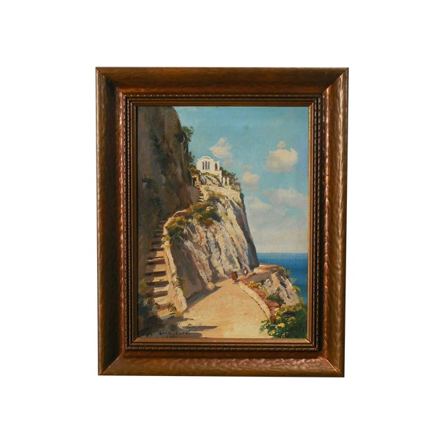 "Image of ""Capri"" Oil Painting by Gustave Lino"