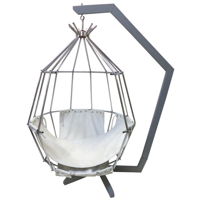IB Arberg Parrot Birdcage Hanging Chair Chairish