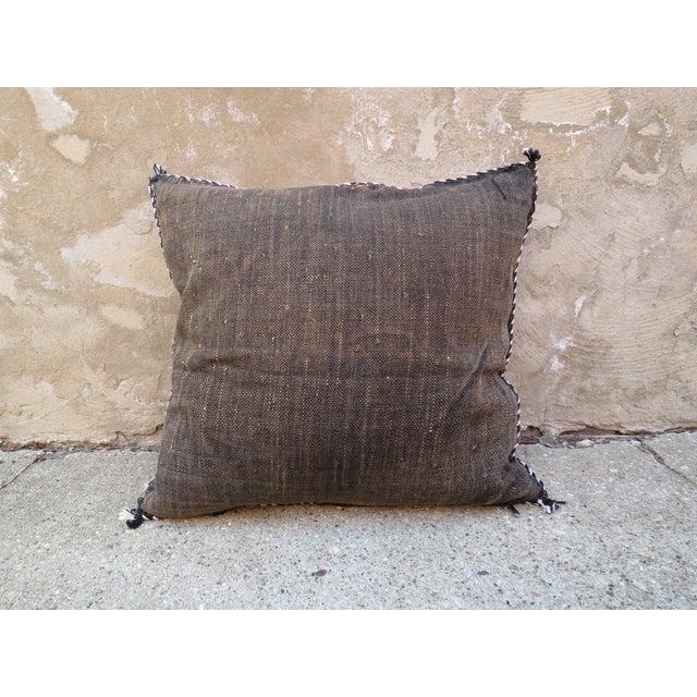 Image of Moroccan Sabra Cactus Silk Pillow