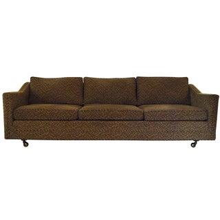Low Profile Mid-Century Three Seater Sofa
