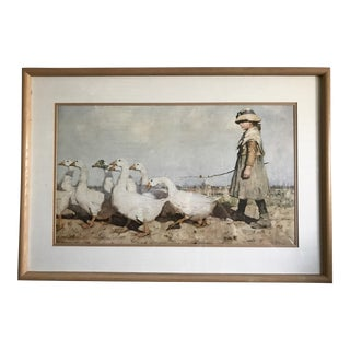 'To Pastures New' Art Print by James Guthrie 1883