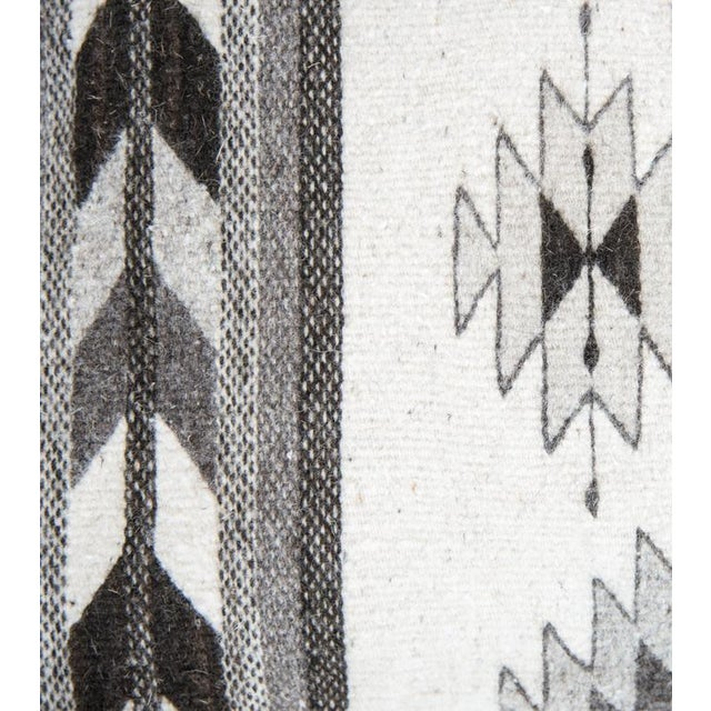 Grey Oaxaca Wool Pillow Cover - Image 2 of 5
