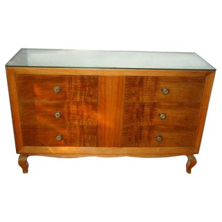 French 1940s Dresser or Commode Attributed to Rene Drouet