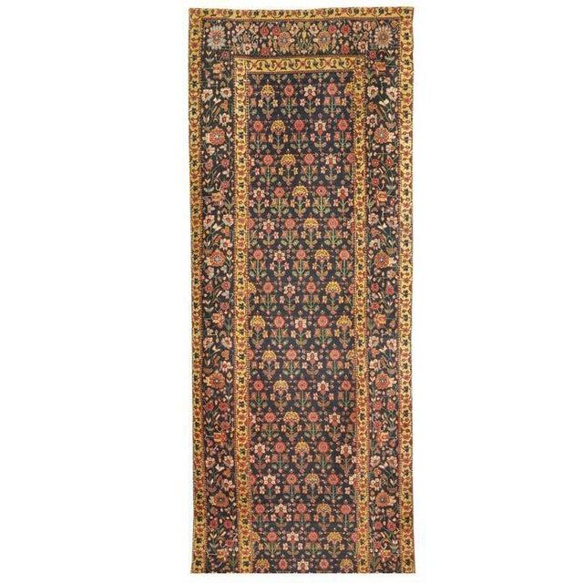 Exceptional Antique Mid-19th Century Persian Joshegan Runner - Image 2 of 2