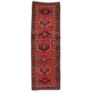 Antique Persian Gharajeh Runner - 4′ × 11′3″