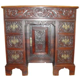 George II Style Mahogany Desk