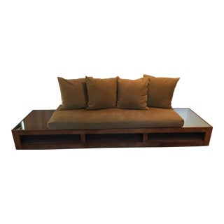 Custom Designed Platform Sofa