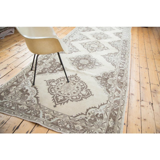 "Distressed Oushak Runner - 5' X 12'10"" - Image 10 of 10"