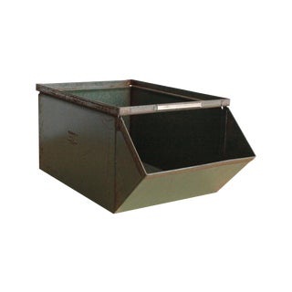Green Industrial Storage Bin