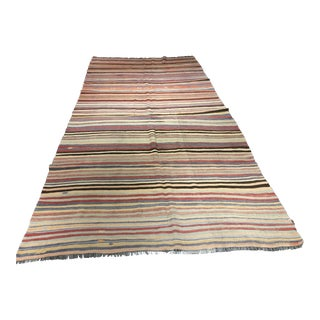 "Bellwether Rugs Vintage Turkish Kilim Rug - 5'3"" x 10'8"""