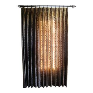 Custom Silk Drapery Panels - A Pair