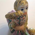 Image of Vintage Hand Painted Monkeys & Donkey Folk Art