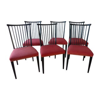 1960s Windsor-Inspired Dining Chairs - Set of 6