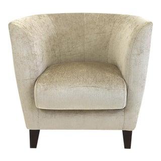 Mannes Brazilian Modern Chenille Club Chair