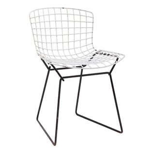 Knoll Bertoia Child Size Chair White/Black