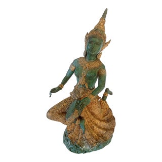 Thai Drum Dancer Figure