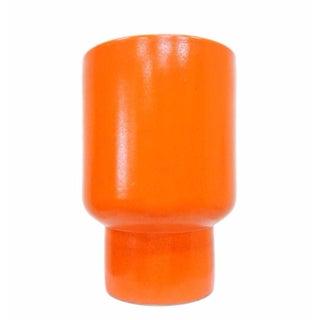 Gainey Ceramics Orange Glazed 'Chalice' Planter