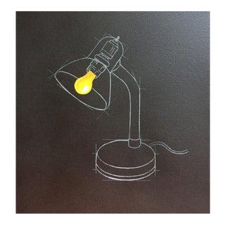 """Light"" Acrylic on Canvas Painting"