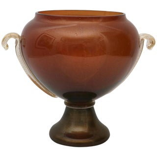 Murano Gold Truncated Vase