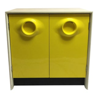 Raymond Loewy Cabinet in Yellow