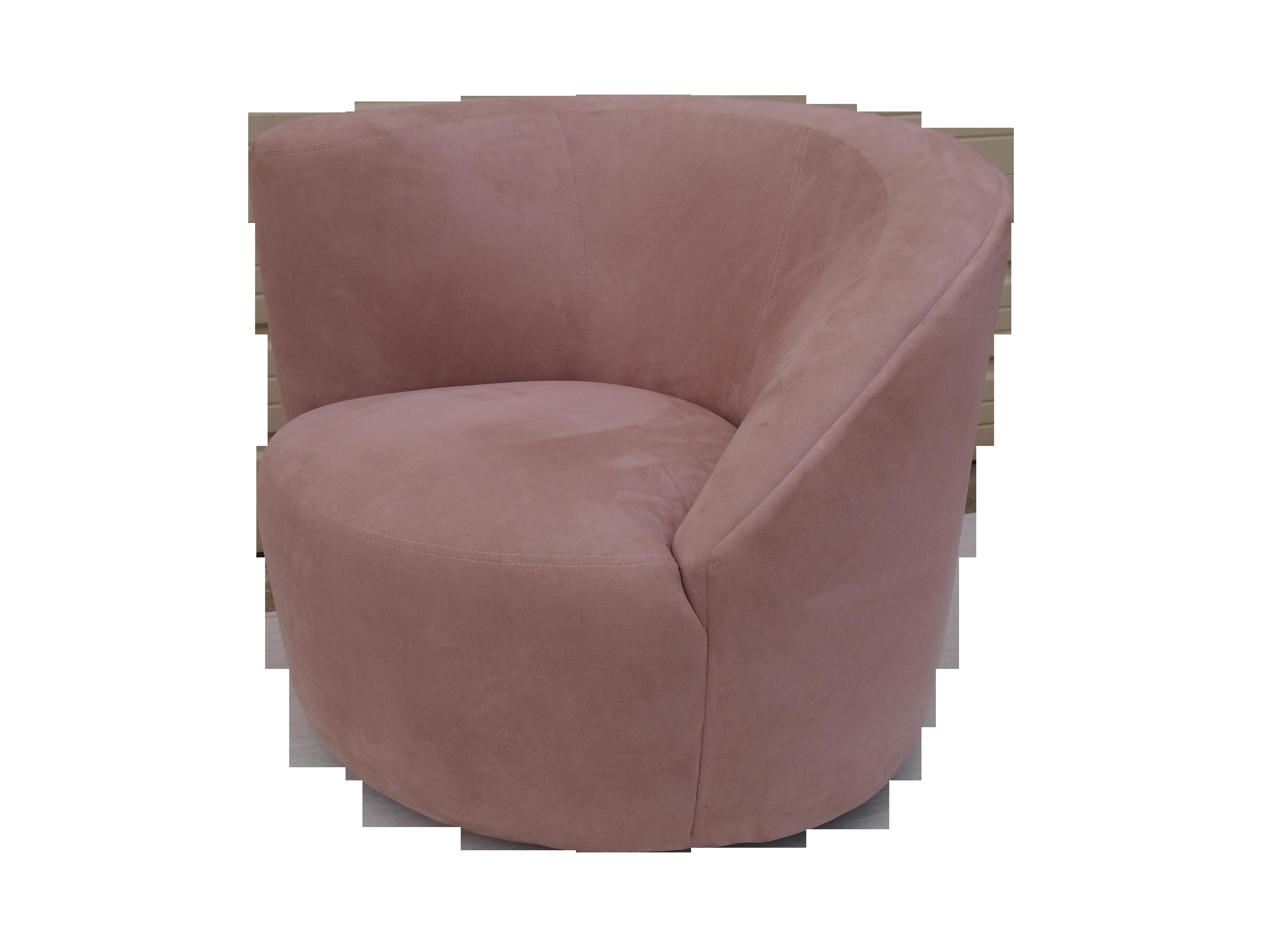 Vladimir Kagan Nautilus Swivel Arm Chair