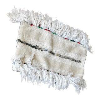 Moroccan Handmade Wedding Blanket Pillowcase