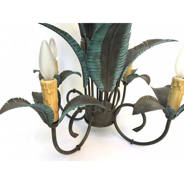 Arte De Mexico Palm Tree Chandelier - Image 3 of 7