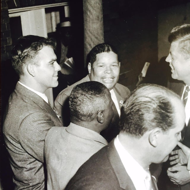 Original Charles Harris JFK Supporters Photograph - Image 4 of 7