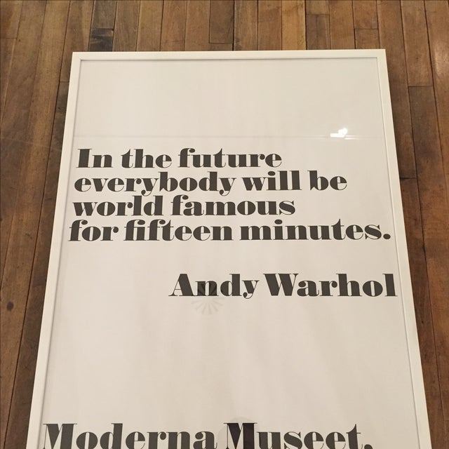 Image of Andy Warhol Print