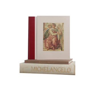 Michelangelo Book Stack - Set of 3