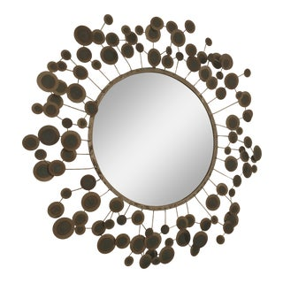 Round Metal Satellite Mirror