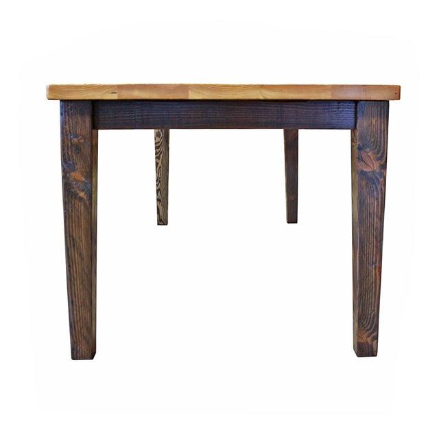 Reclaimed Douglas Fir Farm Table - Image 3 of 4