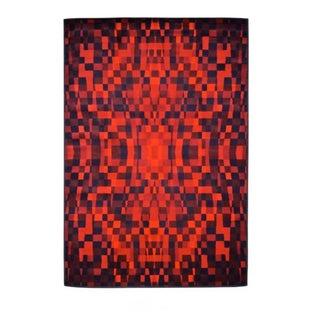 """Verner Panton Op Art Carpet - 6' x 8'6"""""""