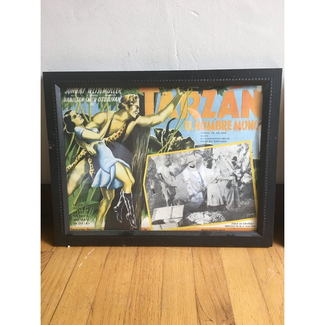 Framed Vintage Spanish Hollywood Movie Posters - Set of 3 - Image 4 of 6