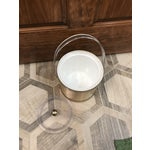 Image of Lucite & Brushed Brass Ice Bucket
