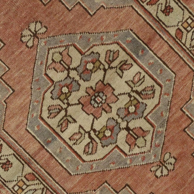 Vintage Turkish Oushak Rug with Traditional Style - 3' x 5'2 - Image 4 of 5