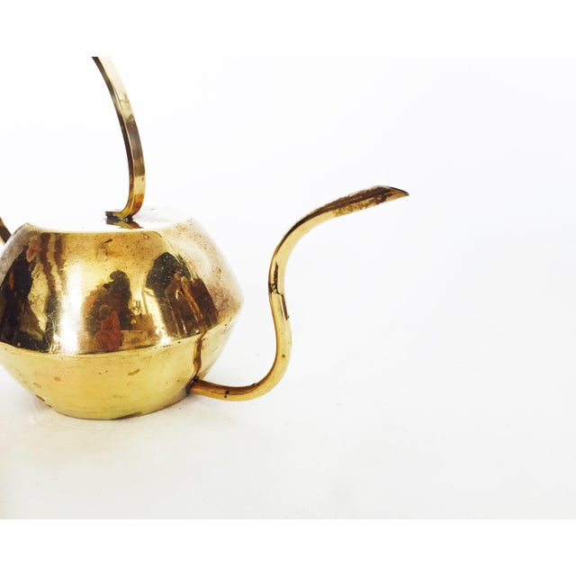 Vintage Brass Cactus Watering Can - Image 4 of 5