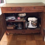 Image of Antique French Dining Hutch