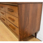 Image of Walnut Mid Century Dresser
