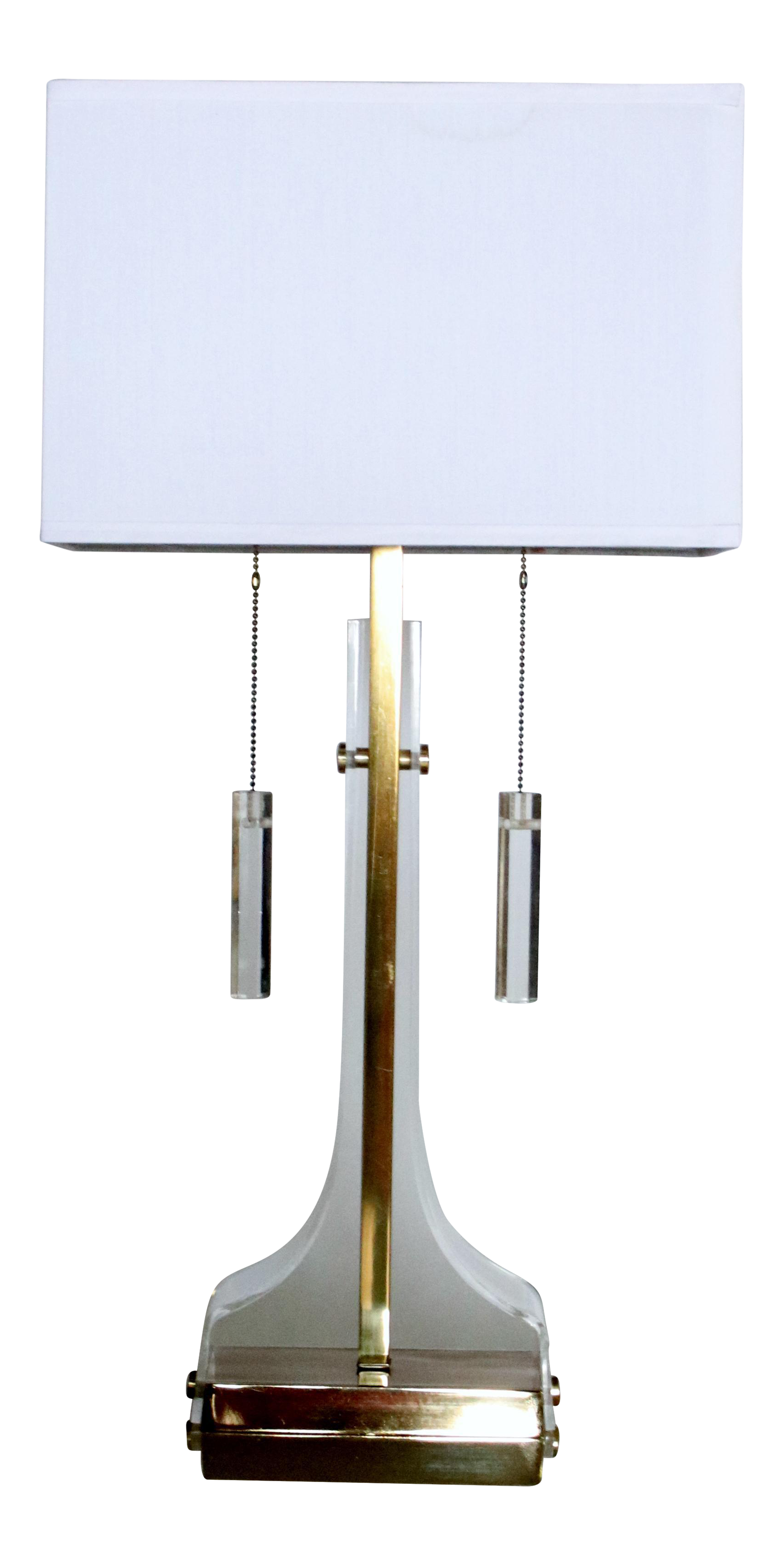Laurel Lucite and Brass Table L&  sc 1 st  Chairish & Gently Used Laurel Lamp Company Lighting | Up to 70% off at Chairish azcodes.com