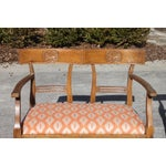 Image of Directoire Style French Bench