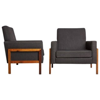 Brazilian Baruna Wood Lounge Chairs, Circa 1960 - A Pair