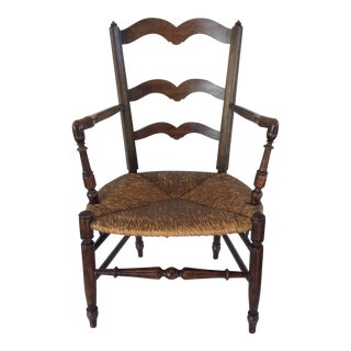 Antique Country French Arm Chair
