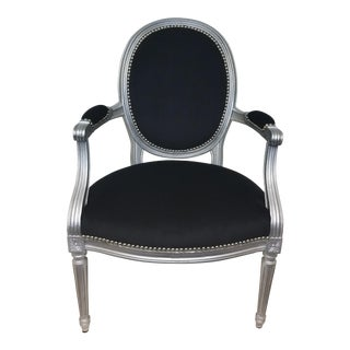 Louis XVI Italian Carved Chair